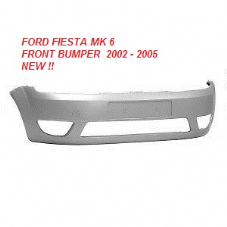 FORD FIESTA MK 6  FRONT BUMPER  2002  - 2006  NEW  ( READY TO FIT + PAINT )